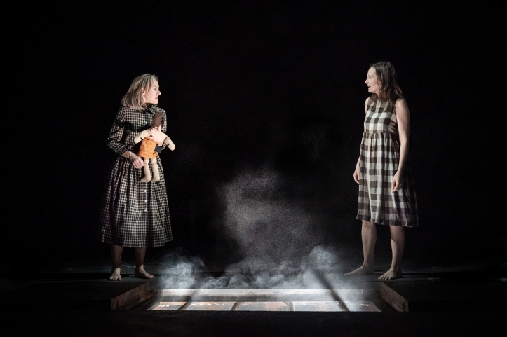Niamh Cusack, Catherine McCormack in My Brilliant Friend Part 1, image by Marc Brenner