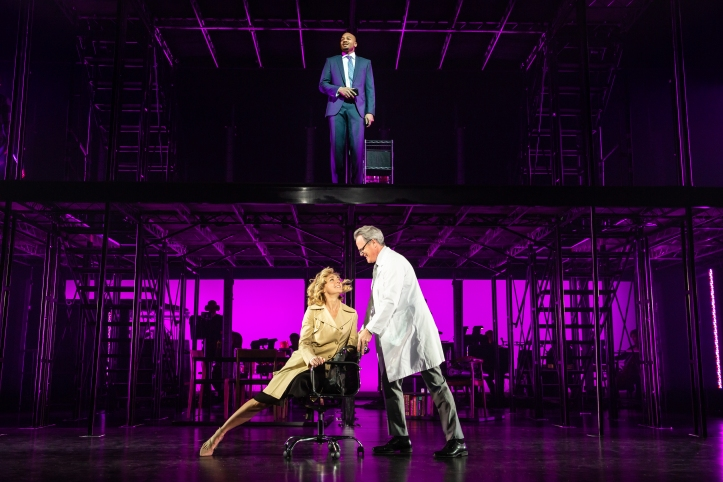 01_Brandon Victor Dixon, Rachel Bay Jones, and Michael Park_Photo by Jeremy Daniel