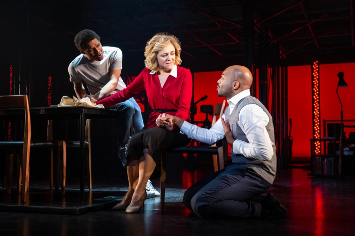 03_Khamary Rose, Rachel Bay Jones, and Brandon Victor Dixon_Photo by Jeremy Daniel
