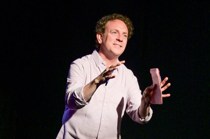 Drew Droege in Happy Birthday Doug - Photo by Russ Rowland - 104