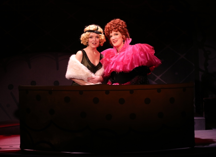 Nancy Anderson & Charles Busch in THE CONFESSION OF LILY DARE at Primary Stages, Photo by Carol Rosegg (1)