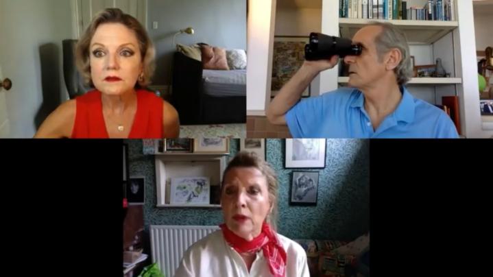 Alison Fraser, Anthony Newfield, Karen Archer.
